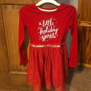 Girls holiday dress
